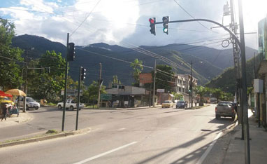 LED Traffic Lights project in Ecuador