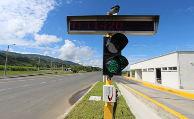 Traffic Light Project in Colombia
