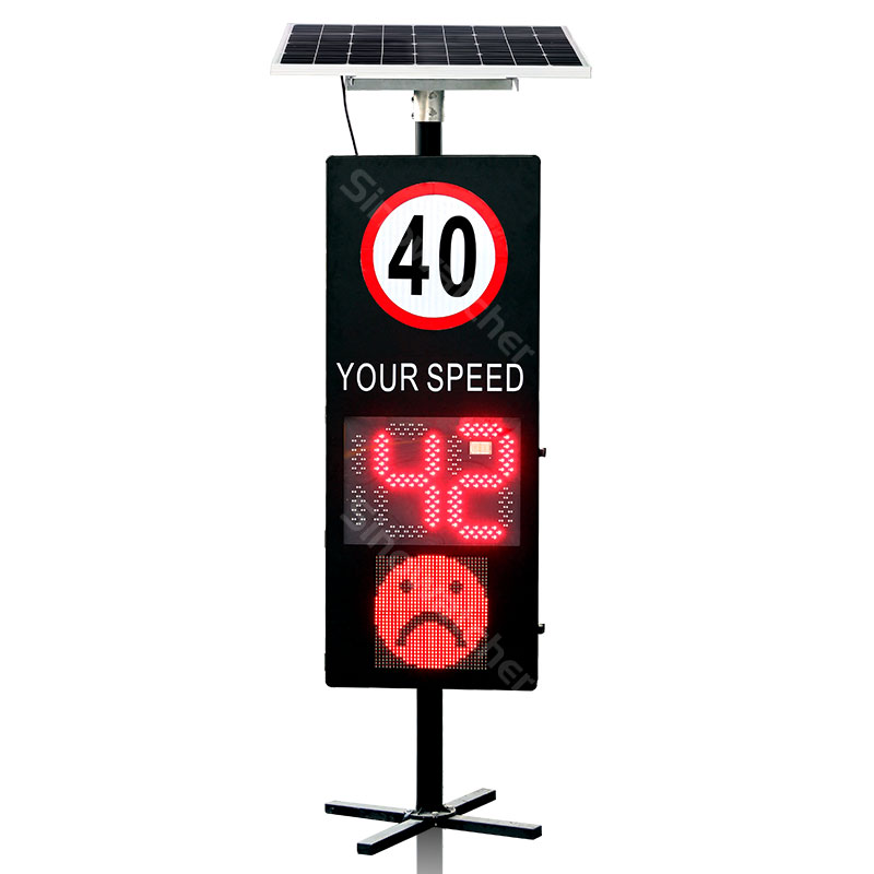 Radar Speed Sign With Digital Face